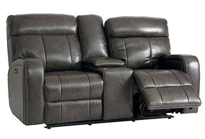 Picture of Beaumont Leather Reclining Loveseat